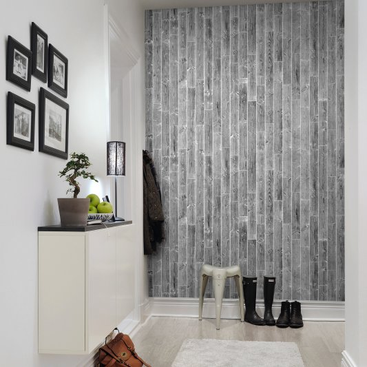 Tapete R10862 Pulp, grey Bild 1 von Rebel Walls