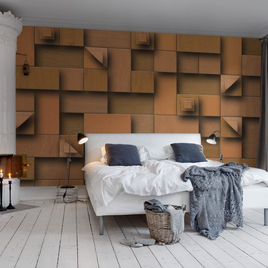 Wall Mural R11291 Carved Wood image 1 by Rebel Walls