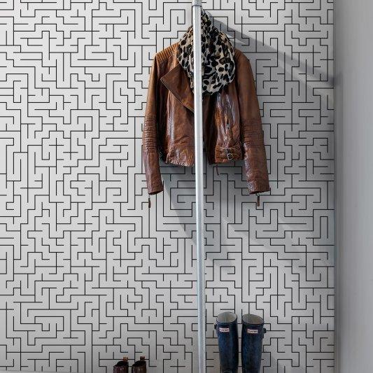 Tapete R11531 Maze Bild 1 von Rebel Walls