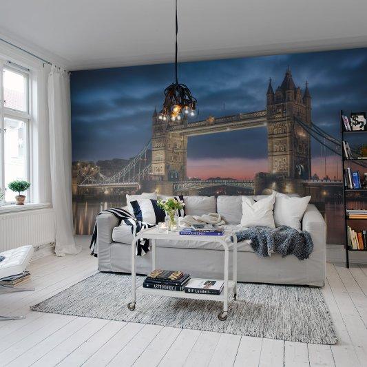 Tapete R11641 Tower Bridge Bild 1 von Rebel Walls