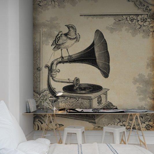 Tapete R11801 Gramophone Bild 1 von Rebel Walls