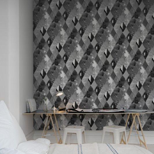 Tapete R12233 Harlequin, black&white Bild 1 von Rebel Walls