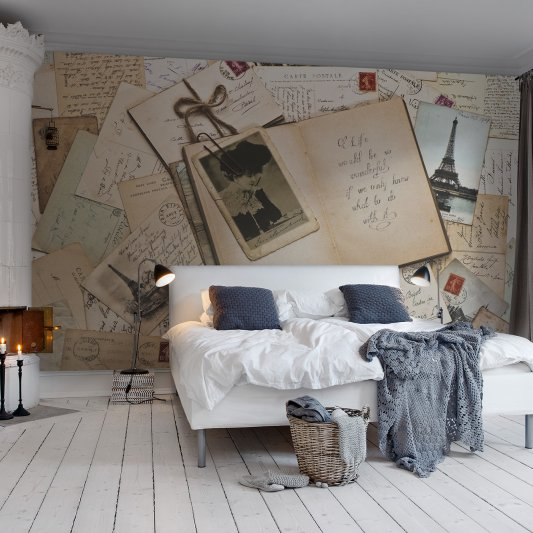 Wall Mural R12301 From Paris with Love image 1 by Rebel Walls