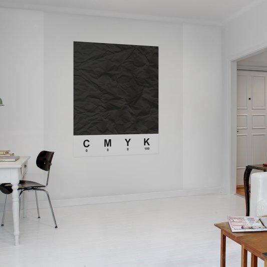 Tapete R12531 CMYK, black Bild 1 von Rebel Walls