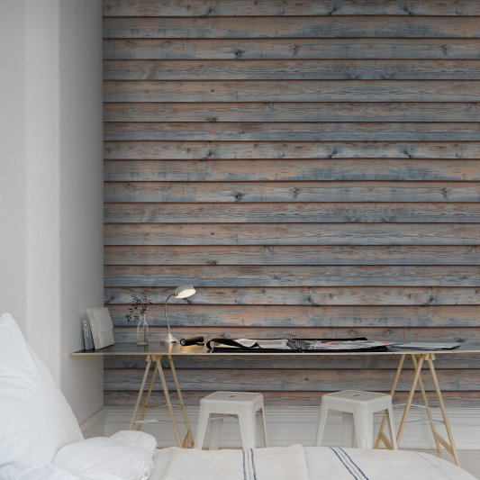 Wall Mural R12581 Horizontal Boards image 1 by Rebel Walls