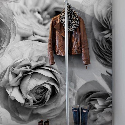 Tapete R13092 Summer Wind, Black and White Bild 1 von Rebel Walls