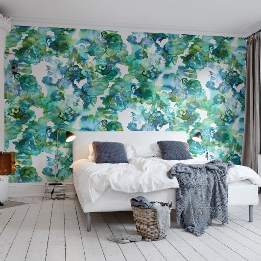 Wall Mural R13122 Lily Pond image 1 by Rebel Walls