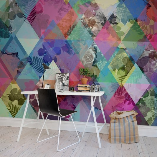 Wall Mural R13231 Harlequin Roses image 1 by Rebel Walls