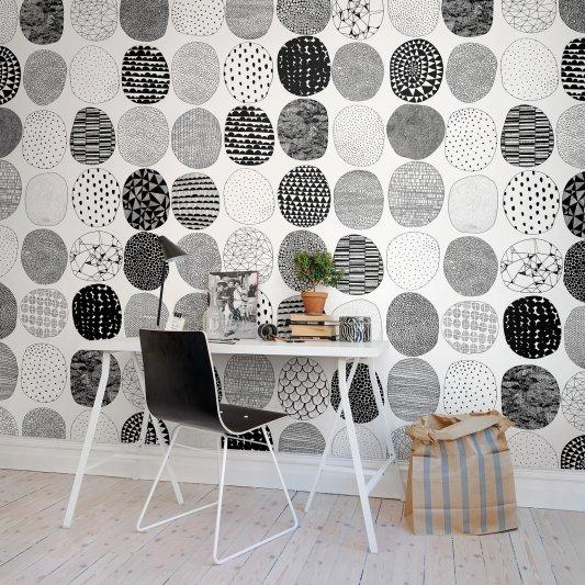 Tapete R50103 Surface Dots Bild 1 von Rebel Walls