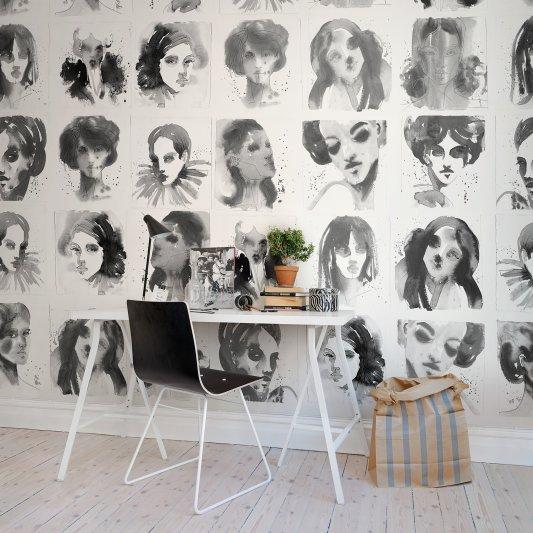 Wall Mural R50306 Girls Ink image 1 by Rebel Walls