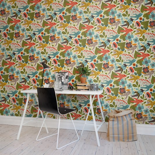Wall Mural R50809 Summer Gardening image 1 by Rebel Walls