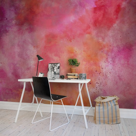 Wall Mural R13272 Colour Clouds, chili image 1 by Rebel Walls