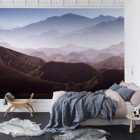 Tapete R13281 Gradient Mountains Bild 1 von Rebel Walls
