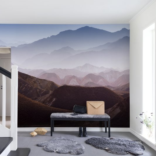 Wall Mural R13281 Gradient Mountains image 1 by Rebel Walls