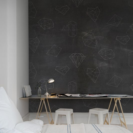 Wall Mural R13341 Chalkboard image 1 by Rebel Walls