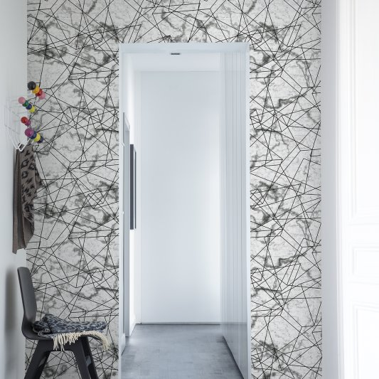 Wall Mural R13382 Dimension, white image 1 by Rebel Walls