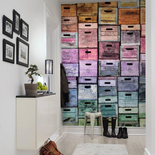 Tapete R13441 Colour Boxes Bild 1 von Rebel Walls