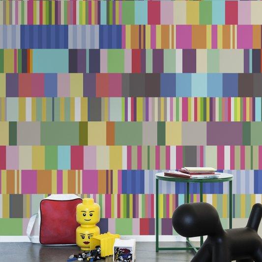Tapete R13471 Striped Stripe Bild 1 von Rebel Walls