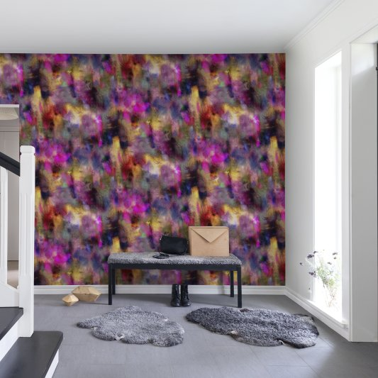 Wall Mural R13491 Textile Graffiti image 1 by Rebel Walls