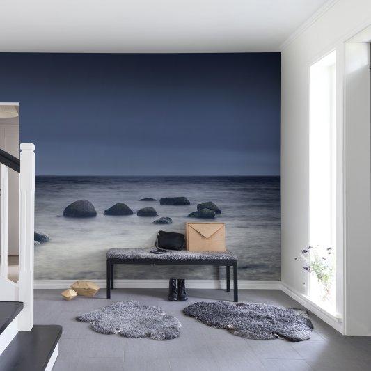 Tapete R13541 Enchanting Blue Bild 1 von Rebel Walls