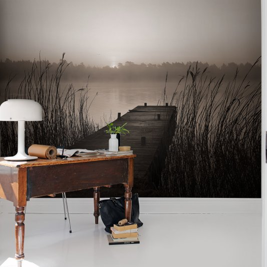 Wall Mural R13581 Misty Lake image 1 by Rebel Walls