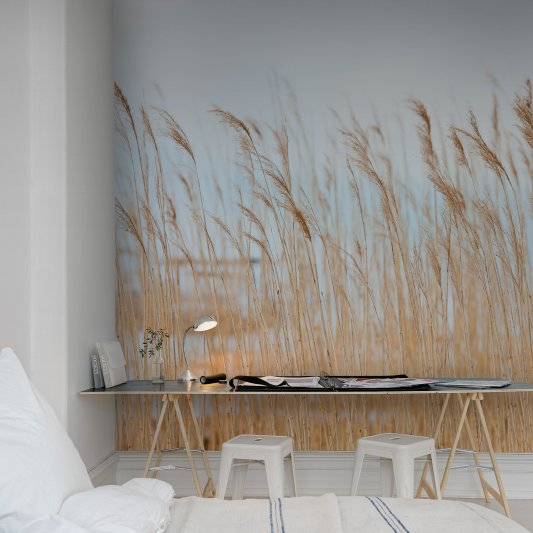 Wall Mural R13601 Swaying Wheat image 1 by Rebel Walls