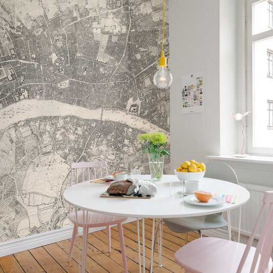 Wall Mural R13781 Urban And Rural image 1 by Rebel Walls