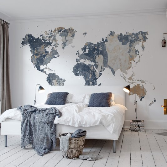 Wall Mural R13924 Your Own World, Battered Wall image 1 by Rebel Walls