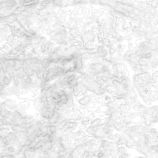 Tapete R14071 Elevation Lines, White Bild 1 von Rebel Walls