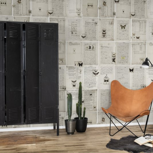 Tapete R14251 The Butterfly Library Bild 1 von Rebel Walls