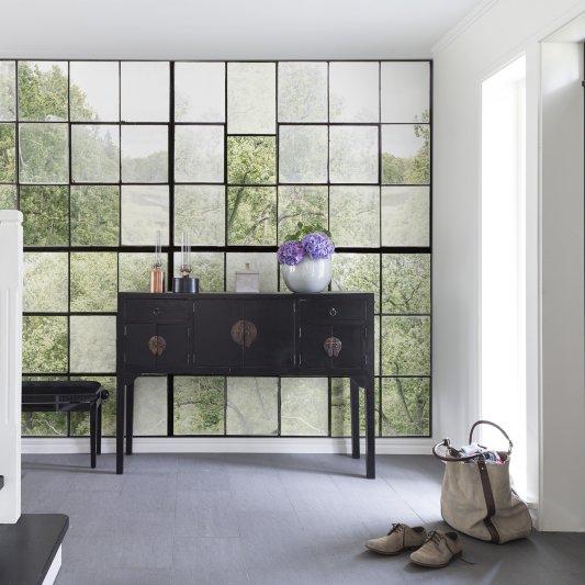 Tapete R14381 Factory Window Bild 1 von Rebel Walls