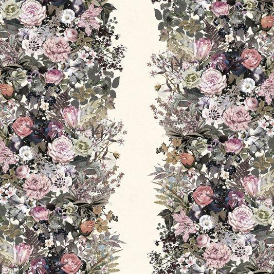 Wall Mural R13132 Flowerbed, Vintage image 1 by Rebel Walls