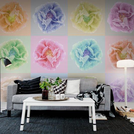 Tapete R13151 Poppy Art Andy Bild 1 von Rebel Walls
