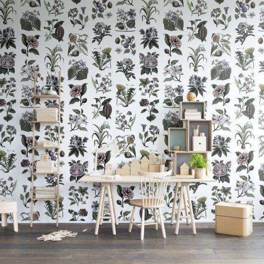 Wall Mural R13172 Fruit & Flora, Color image 1 by Rebel Walls