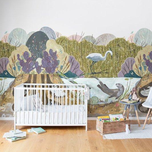 Tapete R14451 Wild Willows Bild 1 von Rebel Walls