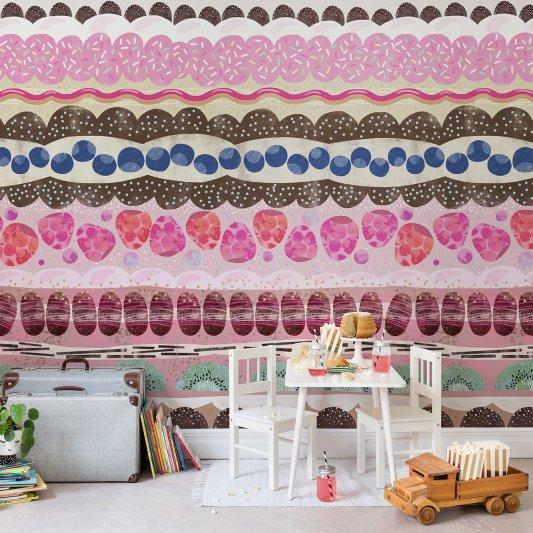 Tapete R14621 Sugar Stripes Bild 1 von Rebel Walls