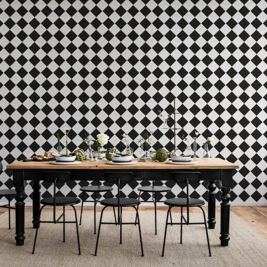 Wall Mural R14881 Diamond Tiles image 1 by Rebel Walls