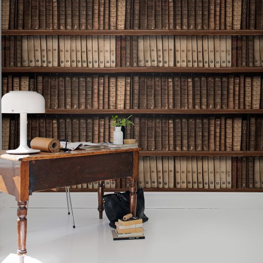 Wall Mural R15041 Antique Books image 1 by Rebel Walls