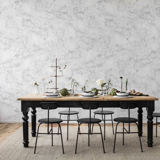Wall Mural R14682 Noble Marble, White image 1 by Rebel Walls