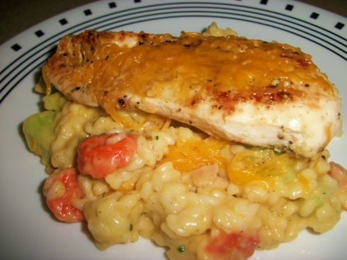 Campbells Skillet Cheesy Chicken & Rice