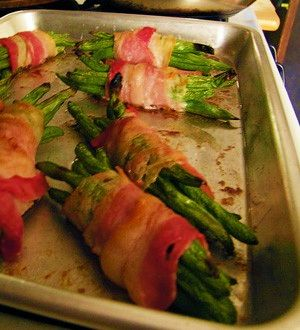 Extra Fine Beans wrapped in Pancetta