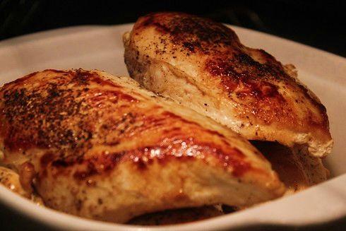 Moist Pan Seared Chicken Breasts