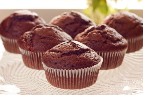 Deliciously Light Chocolate Muffin Recipe