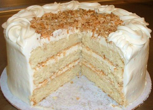 Italian Creme Cake (sugar free recipe also)