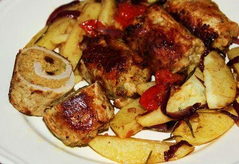 Gli Involtini Siciliani (Sicilian Stuffed Meat Rolls)