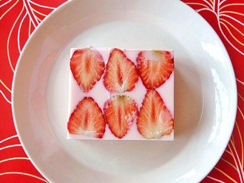 Strawberry Milk Jelly