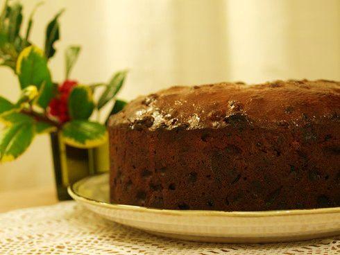 Spelt Christmas Cake
