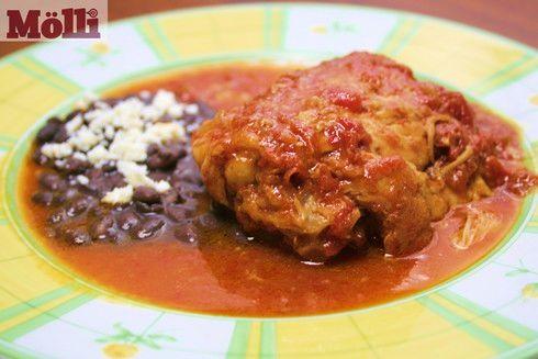 Chicken with Morita Sauce (Pollo en Salsa Morita )
