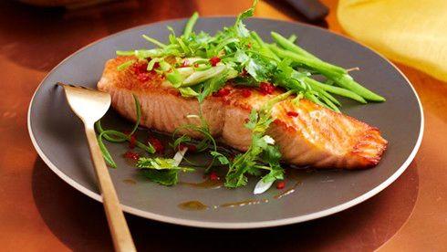 Salmon XO sauce