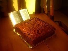 Scripture Cake